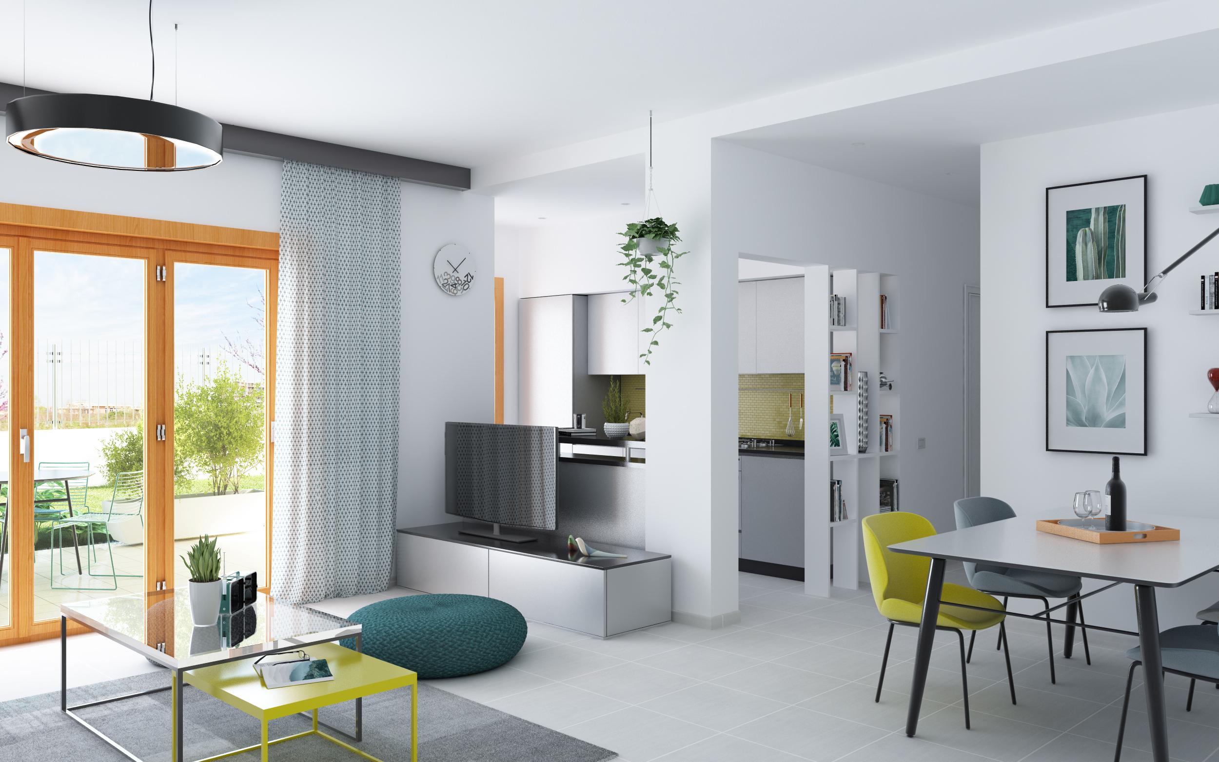 Architettura E Design residenze degli aranci | progetto interni e rendering | roma
