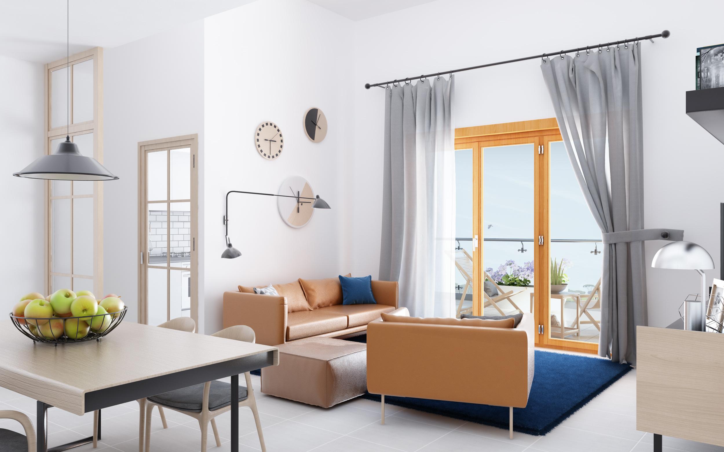 Design Degli Interni Roma residenze degli aranci | progetto interni e rendering | roma