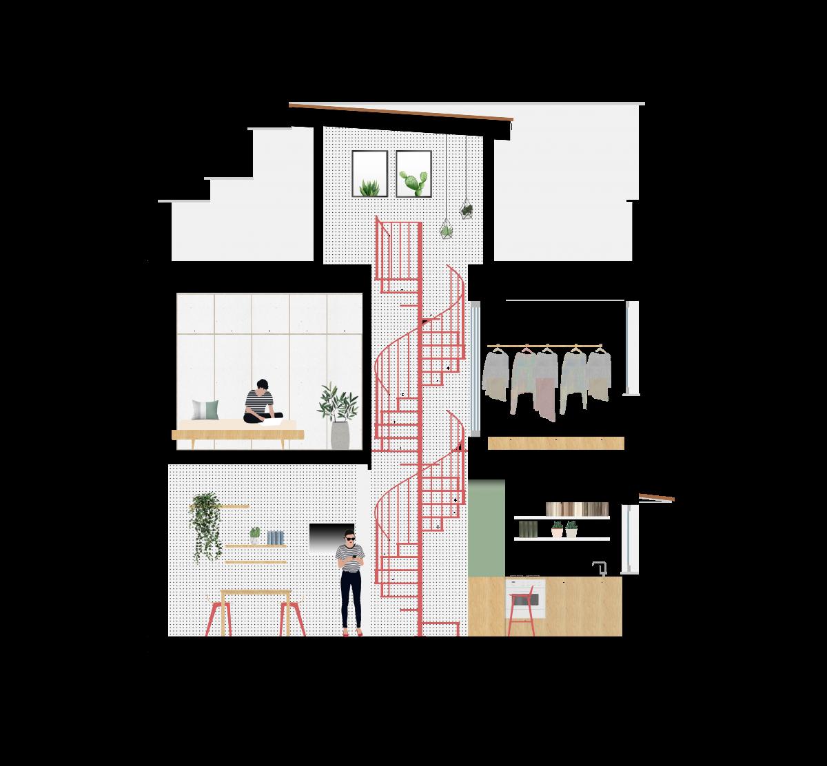 Progetto Casa 85 Mq caleidoscopio architettura e design